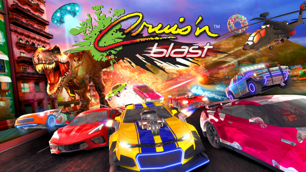 News: 'Cruis'n Blast' Out Now on Switch