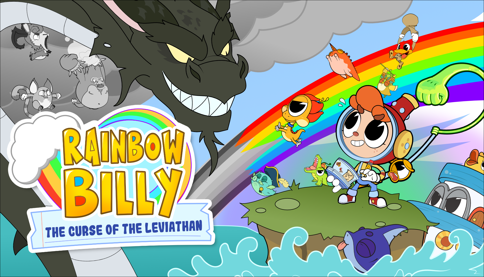 'Rainbow Billy: The Curse of the Leviathan' Launches Today (PC, PS4, XB1, Switch)